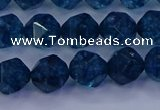 CKC712 15.5 inches 8mm faceted nuggets imitation kyanite beads
