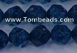 CKC714 15.5 inches 12mm faceted nuggets imitation kyanite beads