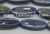 CKC93 15.5 inches 10*25mm oval natural kyanite gemstone beads