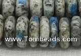 CKJ438 15.5 inches 4*10mm - 5*11mm rondelle natural k2 jasper beads