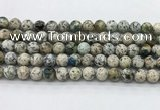 CKJ454 15.5 inches 8mm round natural k2 jasper beads wholesale