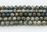 CKJ460 15.5 inches 10mm round natural k2 jasper beads wholesale