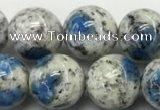 CKJ483 15.5 inches 10mm round natural k2 jasper beads