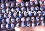 CKJ704 15.5 inches 12mm round imitation k2 jasper beads wholesale