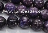 CKU30 15.5 inches 14mm round purple kunzite beads wholesale