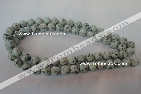 CKW03 15.5 inches 10mm round kiwi jasper gemstone beads