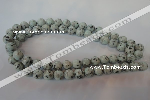 CKW04 15.5 inches 12mm round kiwi jasper gemstone beads