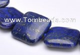 CLA02 Square 20*20mm deep blue dyed lapis lazuli gemstone beads