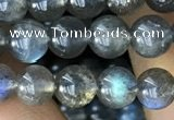 CLB1016 15.5 inches 6mm round labradorite gemstone beads