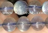 CLB1063 15.5 inches 8mm round natural labradorite gemstone beads