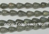 CLB152 15.5 inches 7*9mm teardrop labradorite gemstone beads