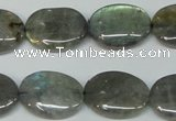 CLB175 15.5 inches 15*20mm oval labradorite gemstone beads