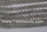 CLB18 15.5 inches 4mm round labradorite gemstone beads wholesale