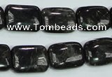 CLB310 15.5 inches 13*18mm rectangle black labradorite gemstone beads