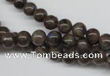 CLB431 15.5 inches 6mm round grey labradorite beads wholesale