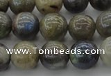 CLB604 15.5 inches 12mm round AB-color labradorite beads