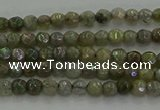 CLB609 15.5 inches 3mm faceted round AB-color labradorite beads