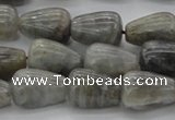 CLB720 15.5 inches 10*14mm teardrop labradorite gemstone beads