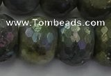 CLB764 15.5 inches 15*20mm faceted rondelle AB-color labradorite beads
