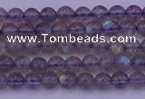 CLB910 15.5 inches 4mm round labradorite gemstone beads