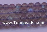 CLB911 15.5 inches 5mm round labradorite gemstone beads