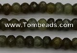 CLB956 15.5 inches 5*8mm faceted rondelle labradorite beads
