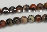 CLD11 15.5 inche 6mm round leopard skin jasper beads wholesale