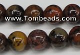 CLD14 15.5 inche 10mm round leopard skin jasper beads wholesale
