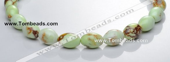 CLE03 13*18mm rice lemon turquoise  gemstone beads Wholesale