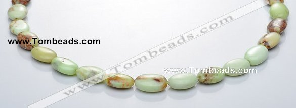 CLE08 10*14mm oval lemon turquoise gemstone beads Wholesale