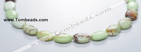 CLE09 oval 13*18mm  lemon turquoise gemstone beads Wholesale
