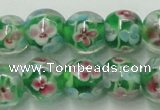 CLG757 15.5 inches 10mm round lampwork glass beads wholesale