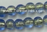 CLG832 15.5 inches 8mm round lampwork glass beads wholesale