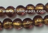CLG835 15.5 inches 8mm round lampwork glass beads wholesale