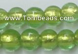 CLG837 15.5 inches 8mm round lampwork glass beads wholesale