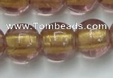 CLG841 15.5 inches 12mm round lampwork glass beads wholesale