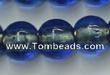 CLG846 15.5 inches 14mm round lampwork glass beads wholesale