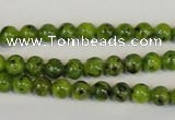 CLJ210 15.5 inches 6mm round dyed sesame jasper beads wholesale