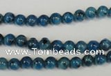 CLJ214 15.5 inches 6mm round dyed sesame jasper beads wholesale