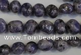 CLJ241 15.5 inches 10mm nuggets dyed sesame jasper beads wholesale