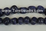 CLJ242 15.5 inches 10mm nuggets dyed sesame jasper beads wholesale