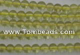 CLQ151 15.5 inches 6mm round natural lemon quartz beads wholesale