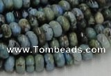 CLR06 16 inches 5*8mm rondelle larimar gemstone beads wholesale