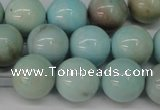 CLR354 15.5 inches 12mm round dyed larimar gemstone beads