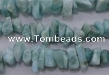 CLR45 15.5 inches 3*8mm � 4*10mm natural larimar chips beads