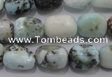 CLR52 15.5 inches 10*12mm � 12*16mm nuggets natural larimar beads