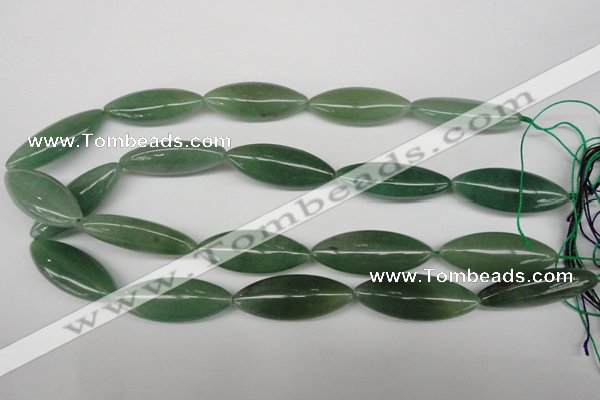 CME12 15.5 inches 15*40mm marquise green aventurine beads