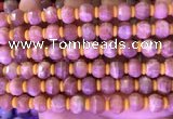 CME313 15.5 inches 8*10mm pumpkin moonstone gemstone beads