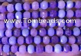 CME315 15.5 inches 8*10mm pumpkin mixed gemstone beads