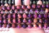CME327 15.5 inches 9*11mm - 10*12mm pumpkin red tiger eye beads